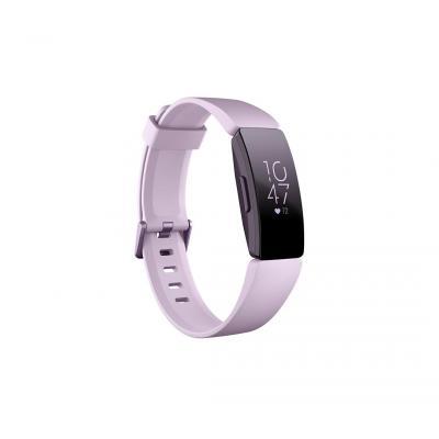 Fitbit Inspire HR Wearable - Zwart, Lila