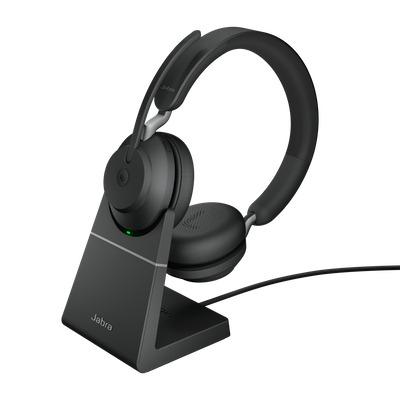 Jabra Evolve2 65, MS Stereo, USB-C Headset - Zwart