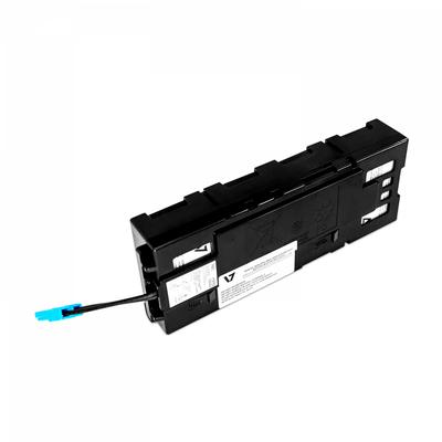 V7 RBC115 UPS UPS batterij - Zwart,Metallic