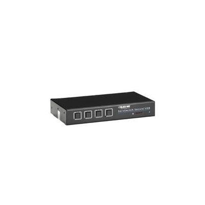 Black Box ServSwitch Secure KVM switch - Zwart