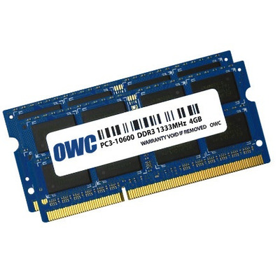 OWC 1333DDR3S08S RAM-geheugen