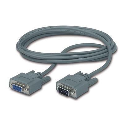 APC DB9 - DB9, M/F Seriele kabel - Grijs