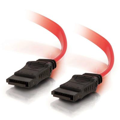 C2G 1m 7-pin SATA Cable ATA kabel - Rood