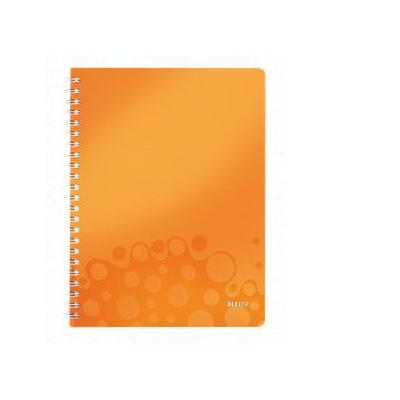 Leitz schrijfblok: A4, 80 gsm, 540g - Metallic, Oranje
