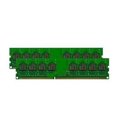 Mushkin 2GB (2x1GB) PC2-5300 RAM-geheugen