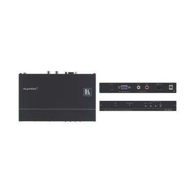 Kramer Electronics VP-425 Video converter - Zwart
