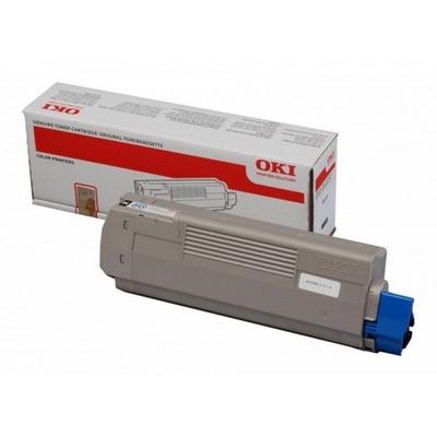 OKI cartridge: C610 Toner Zwart (8K)