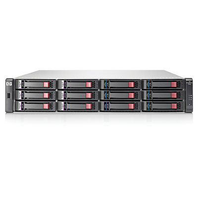 Hewlett packard enterprise power rach-behuizing: HP MSA 2040 LFF Chassis - Zwart