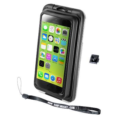 RAM Mounts RAM-HOL-AQ7-2-I5LU Mobile phone case - Zwart, Transparant