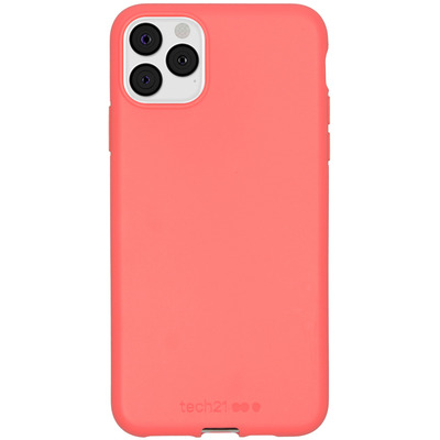 Antimicrobial Backcover iPhone 11 Pro Max - Coral - Coral Mobile phone case