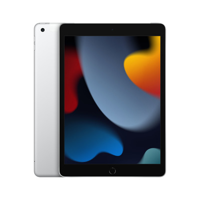 Apple iPad (2021) 10.2-inch Wi-Fi + Cellular 64GB Silver Tablet - Zilver