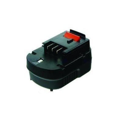 2-power batterij: PTH0073A- NiMH, 12V, 2000mAh, 512g, black - Zwart