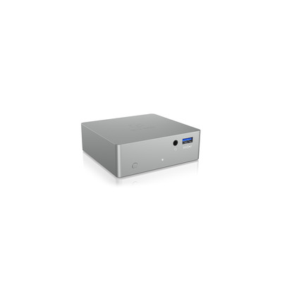 ICY BOX IB-DK2301-C Docking station - Zilver