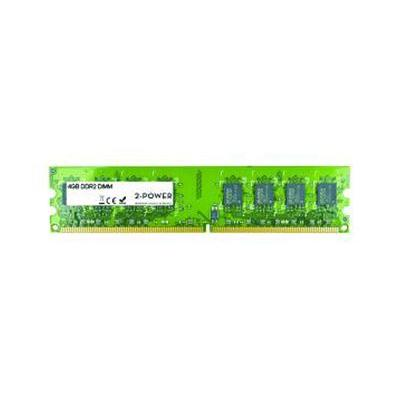 2-power RAM-geheugen: 4GB DDR2 800MHz DIMM