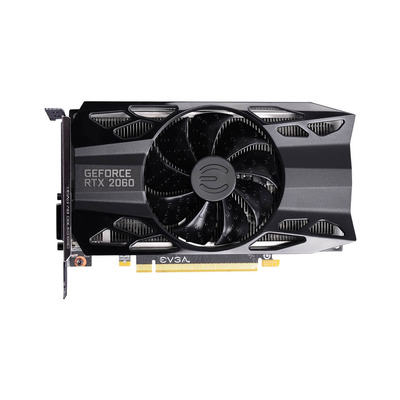 EVGA GeForce RTX 2060 SC, 6GB, DDR6, 1710 MHz, 192 Bit, 14000 MHz, 336 GB/s Videokaart