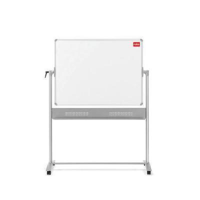 Nobo magnetisch bord: Mobiel Duo Kantelbord Whiteboard/Memobord 1200x900mm - Grijs, Wit