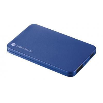 Trust powerbank: PowerBank 1800T Ultra-thin Portable Charger - blue - Blauw