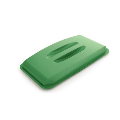 Durable trash can accessoire: DURABIN LID 60 - Groen