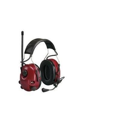 Peltor FM Radio,  400 g, 32 dB, 3.5 mm, 70 h, PTT, red - Zwart, Rood