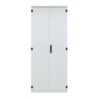 EFB Elektronik Steel Door 2-Part for standard Cabinet 42U, Width 600 mm, 3-Pt.-Locking Rack toebehoren - .....