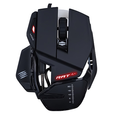 Mad Catz R.A.T. 4+ Computermuis - Zwart