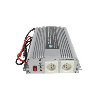 Hq netvoeding: 24V-230V 1000W - Zilver