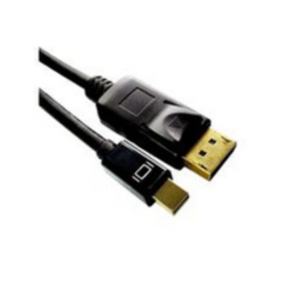 Microconnect 1m Mini Displayport/Displayport - Zwart