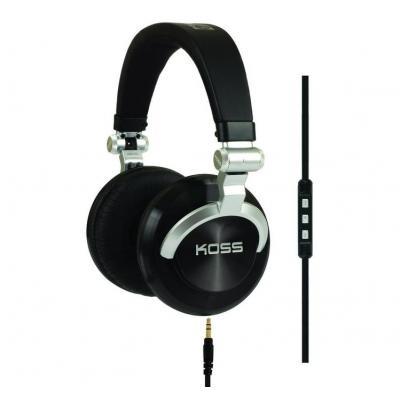 Koss koptelefoon: PRODJ200 - Zwart, Zilver