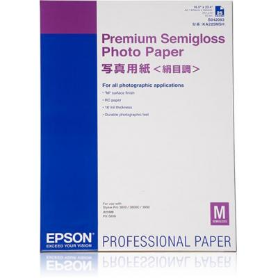 Epson fotopapier: Premium Semigloss Photo Paper, DIN A2, 250g/m², 25 Vel
