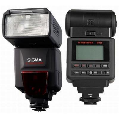 Sigma camera flitser: EF-610 DG Super - Zwart