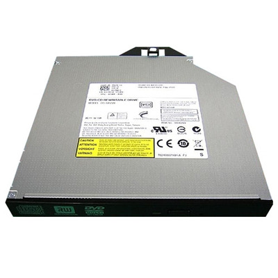 Dell brander: Serial ATA DVD+/-RW Combinatiestation - Zwart, Roestvrijstaal
