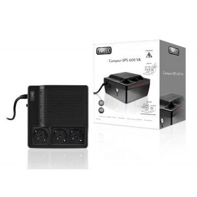 Sweex UPS: Compact UPS 600 VA - Zwart