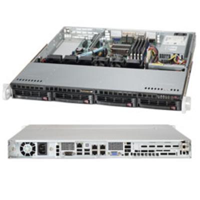 Supermicro SuperServer 5018A-MHN4 Server barebone - Zilver