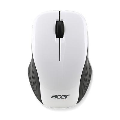 Acer NP.MCE1A.00J Computermuis - Zwart, Wit