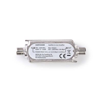 Nedis SAMP0500ME Audio versterker - Zilver