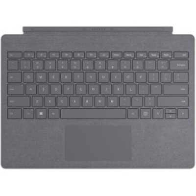 Microsoft SPro SignaTypeCvrComM1725 SC Eng Intl Euro Commercial Charcoal (Grijs) Mobile device keyboard