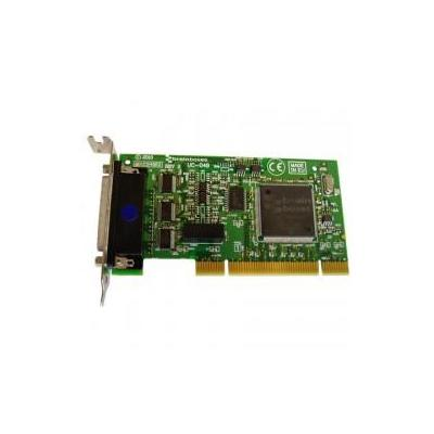 Brainboxes 4 x RS232, 9 Pin (M), PCI 3.0 Interfaceadapter - Groen