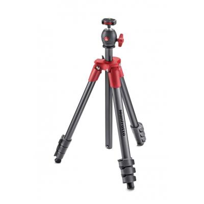Manfrotto tripod: Compact Light Red - Antraciet, Rood