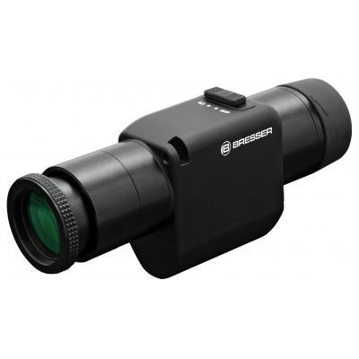 Bresser optics verrekijker: Roof, 16x Magnification, 30mm Objective, FMC, 45x155x75mm, 315g, Black - Zwart
