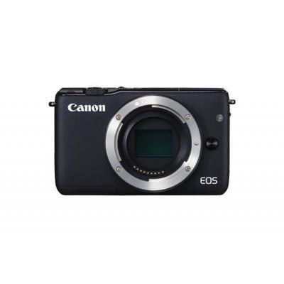 Canon digitale camera: EOS M10 - Zwart