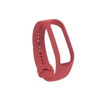 Tomtom : Touch-fitnesstrackerbandje (koraalrood, small) - Koraal, Rood