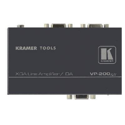 Kramer Electronics video-lijnaccessoire: Kramer VP-200xln Distr. Versterker - Zwart