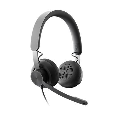 Logitech Zone Wired - Gecertificeerd voor Microsoft Teams Headset - Zwart