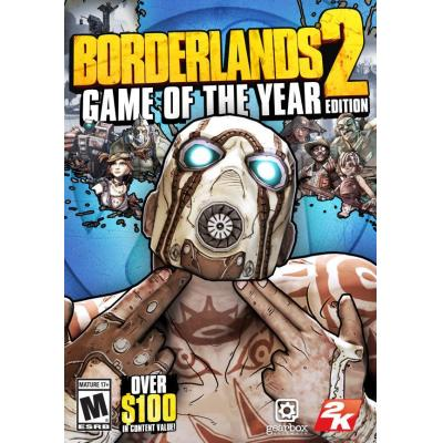 2k game: Borderlands 2: Game of the Year Edition