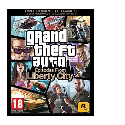 Rockstar games game: Grand Theft Auto: Episodes from Liberty City PC