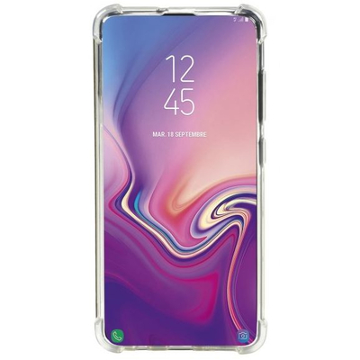 Mobilis R series protective case with reinforced corners for Galaxy A51 Mobile phone case - Transparant