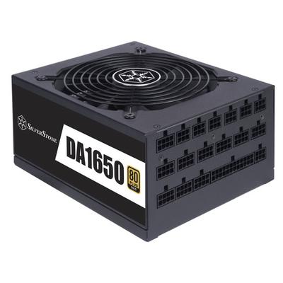 Silverstone DA1650 Power supply unit - Zwart