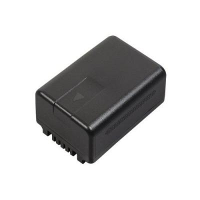 Panasonic batterij: Lithium Ion, 3.6V, 1940mAh, 7.0Wh, for V210/V520/V720, Black - Zwart