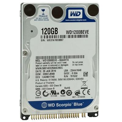 Western Digital Scorpio 120GB Interne harde schijf - Refurbished ZG