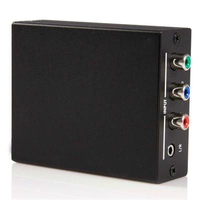 StarTech.com Component naar HDMI met Audio Video converter - Zwart